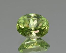 Natural Himalayan Peridot 3.89 Cts Precision Cut Gemstone