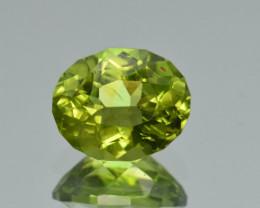 Natural Himalayan Peridot 3.94 Cts Precision Cut Gemstone