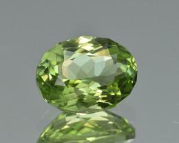 Natural Himalayan Peridot 4.52 Cts Precision Cut Gemstone