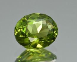 Natural Himalayan Peridot 4.56 Cts Precision Cut Gemstone