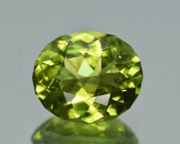 Natural Himalayan Peridot 4.66 Cts Precision Cut Gemstone