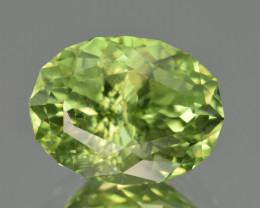 Natural Himalayan Peridot 5.54 Cts Precision Cut Gemstone