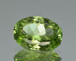 Natural Himalayan Peridot 7.00 Cts Precision Cut Gemstone