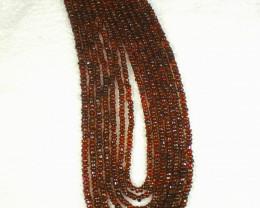 953.0 Tcw. Garnet 7 Strand Necklace - Gorgeous
