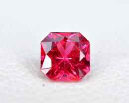 0.31Carat Red Burmese Spinel Cut Gemstone