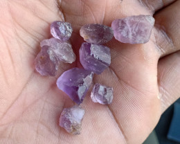 50 cts Natural Amethyst Rough Gemstone Wholesale parcel VA5602