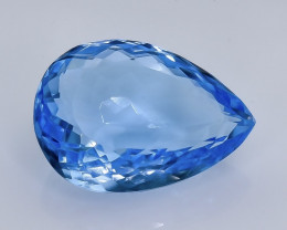 11.36 Crt Natural  Topaz  Faceted Gemstone.( AB 12)