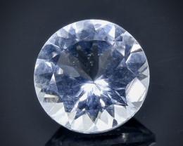 1.59 Crt Natural  Aquamarine Faceted Gemstone.( AB 12)