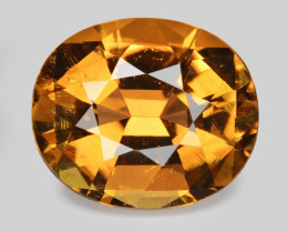 7.59 Ct Tourmaline Yellow Master Cut With Top Luster PT5