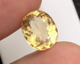 4.65CT Natural Heliodor Yellow Beryl Loose Gemstone