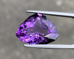 Natural Amethyst 12.85 Cts Excellent Fancy Cut Gemstone