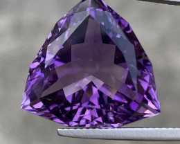 Natural Amethyst 21.66Cts Excellent Fancy Cut Gemstone