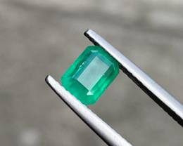 1.36 CtsCts Natural Zambian Emerald Good Quality