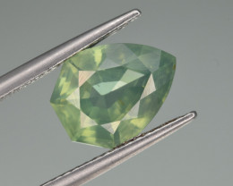 Natural Green Zircon 4.11 Cts Good Quality from Cambodia