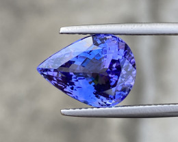 Natural Tanzanite 8.58 Cts  AAA+Grade Nice Color Gemstone