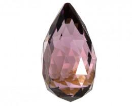 3.18cts Natural Pink Tourmaline Briolette