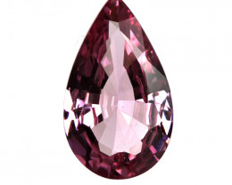 3.14cts Natural Pink Tourmaline Pear Shape