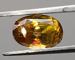 Sphene, 1.145ct, excellent sparkling colour, great clarity!
