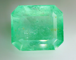 RARE  54.05 ct. Natural Earth Mined  Colombian Emerald - IGI Certified