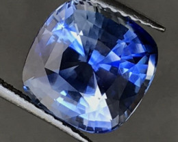 IGI CERTIFIED 5.59 ct.  Natural Earth Mined SAPPHIRE UNHEATED