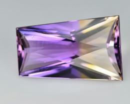 Ametrine 4.46 Cts Purple Asher cut BGC1492