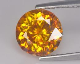 Sphelarite 2.66 Cts Mandrine yellow Dalia Cut BGC661