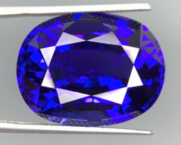 flawless Top color 36.17 Cts Natural Tanzanite Gemstone