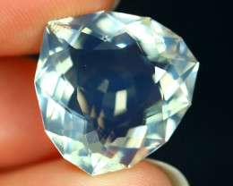7.74Ct Natural Ethiopian Precision Cut Interesting Crystal Fire Opal C3133