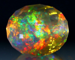 ContraLuz 28.80Ct Precision Master Cut Very Rare Species Opal C1018