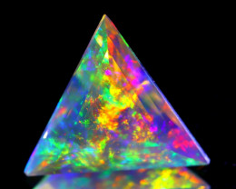 ContraLuz 7.98Ct Precision Master Cut Very Rare Species Opal C1033
