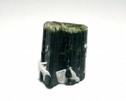 Amazing Natural Bicolor Twin Staknala Tourmaline Crystal 37Cts-Pakistan