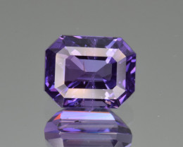 Natural Violet Sapphire 3.21 Cts Excellent Quality Gemstone from Sri Lanka