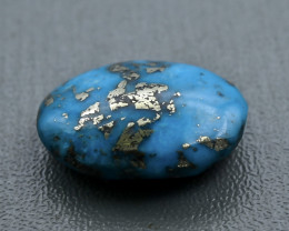 15.08 Crt  Turquoise Faceted Gemstone (Rk-88)