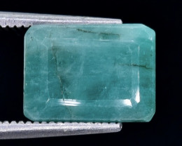 5.29 Crt Emerald   Faceted Gemstone (Rk-88)