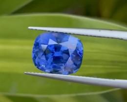 AAA Grade & Color 7.14 ct Royal Blue Burma Sapphire
