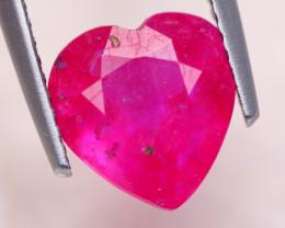 3.50ct Mozambique Ruby Heart Cut Lot GW8355