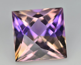 Ametrine 5.24 Cts Purple Asher cut BGC1495