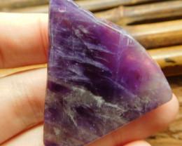 Amethyst slab pendant bead (G2718)