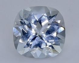1.90 Crt Natural Aquamarine  Faceted Gemstone.( AB 13)