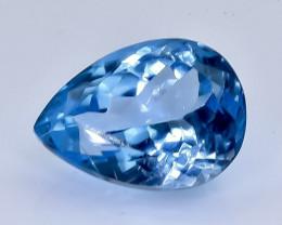 8.24 Crt Natural Topaz Faceted Gemstone.( AB 13)
