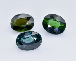5.01 Crt Natural Tourmaline Lot Faceted Gemstone.( AB 13)