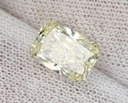 2.01 Ct. K SI1 Loose Natural Diamond Radiant Solitaire 8.6x6.1mm Untreated