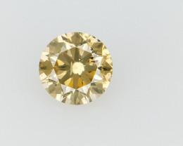 0.20 CTS , Round Brilliant Cut , Light Colored Diamond