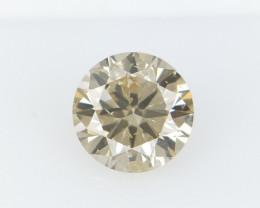0.33 CTS , Round Brilliant Cut , Light Colored Diamond