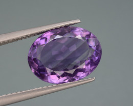 Natural Amethyst 6.44  Cts Top Quality