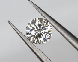 0.25 Ct. 4.1mm Salt and Pepper Loose Natural White Diamond Round Solitaire
