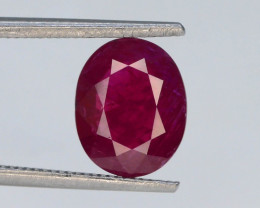 Pink Color 1.87 ct Natural Ruby ~ Untreated ~Tajikistan