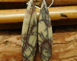 Gemstone creek jasper earring pairs (G2745)