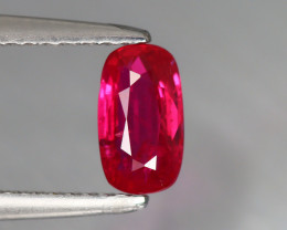 1.02 CT RUBY VIVID RED UNHEATED 100% NATURAL  MOZAMBIQUE CERTIFIED