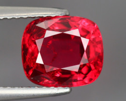 3.165 CT SPINEL BLOOD RED 100% NATURAL UNHEATED MINE BURMESE